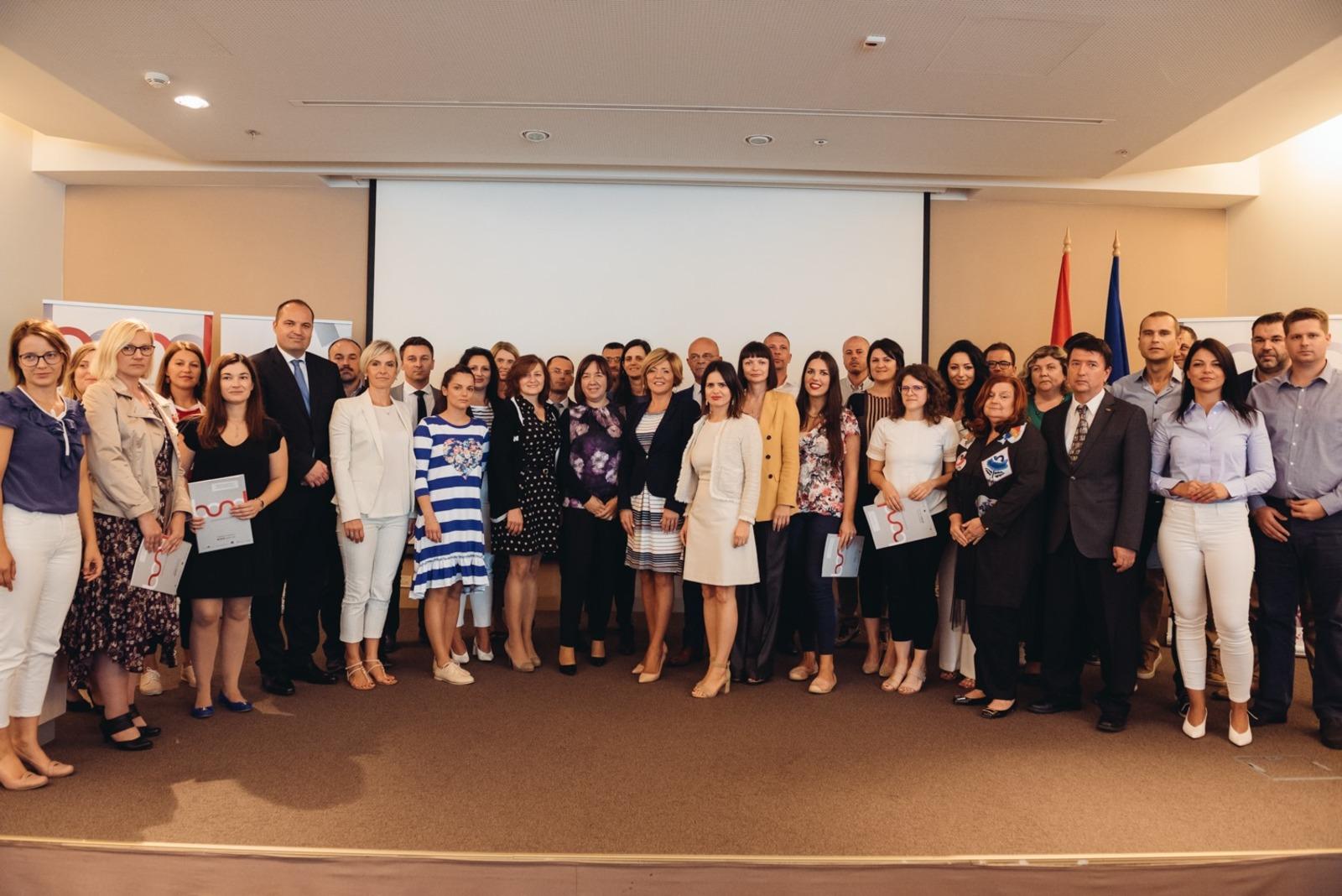 """Održana završna konferencija pilot projekta """"Razvoj mreže poduzetničkih potpornih institucija putem HAMAG-BICRO-a"""""""