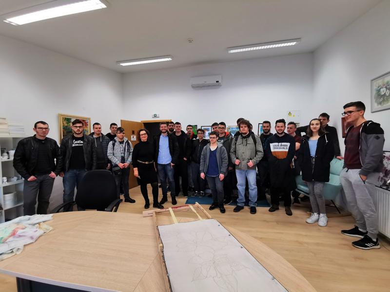 Studenti  VŠMTI u sklopu terenske nastave posjetili Poduzetnički inkubator u Virovitici