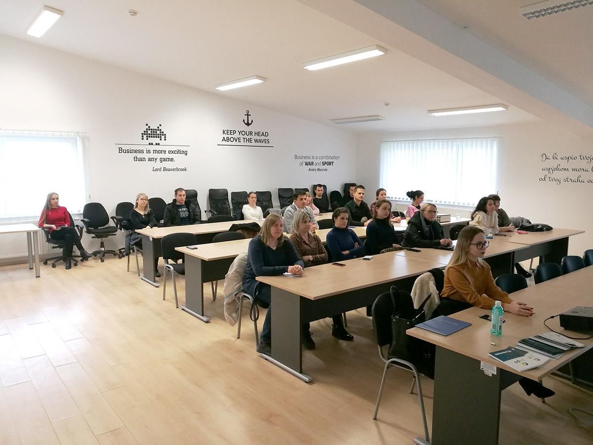 Dana 14. siječnja 2020. održana je edukacija pod nazivom Računovodstveno i financijsko upravljanje poduzećima