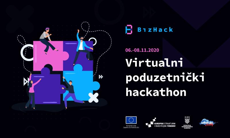 Iskusni poduzetnici i mentori vode BizHack timove kroz online natjecanje